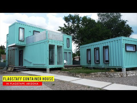 Flagstaff Container House: Eco friendly Prefab Home- Arizona