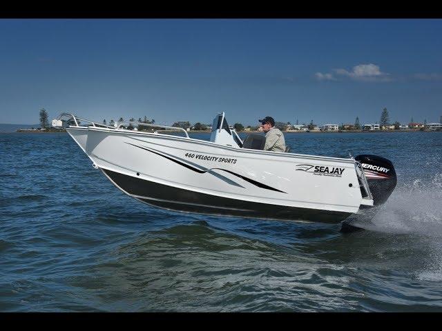 460 Velocity Sports - Boat Test