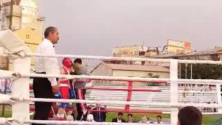 Фото Хусравбек Зоидов чемпион Москва бокс 🥊