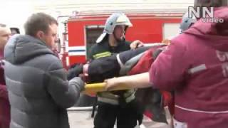 Теракт в Минске.Первые минуты после взрыва.