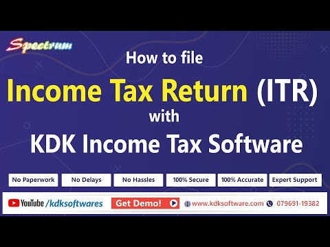 Learn How to E-file an Income Tax Return with ZEN Income Tax Software
