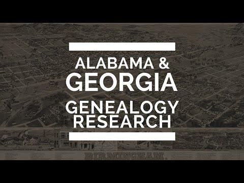 BlackProGen LIVE Ep18: Alabama and Georgia Genealogy Research