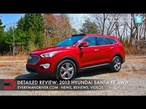 Here's the 2013 Hyundai Santa Fe AWD on Everyman Driver