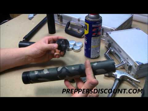 Suppressor Silencer Solvent Trap Adapter Flashlight Cleaning System