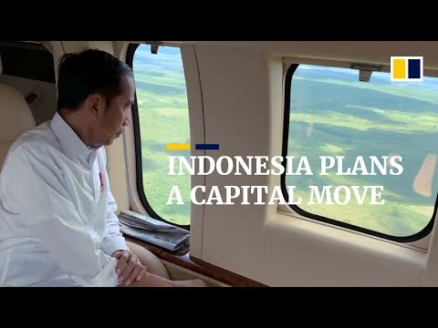 Indonesia looks to build new capital to replace sinking and congested Jakarta