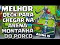O TÃO PEDIDO DECK PARA CHEGAR NA MONTANHA DO PORCO!!