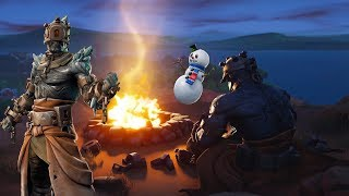 🔴 [LIVE #128] FORTNITE-SKIN APPEARS TOMORROW AND THE SNOW IS MELTING!!