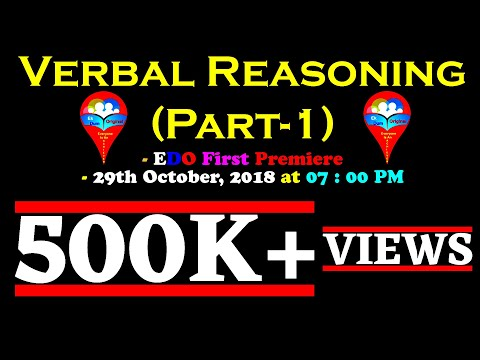 Verbal Reasoning (Part - I) || For Intelligence Test In SSB Interview || Hindi