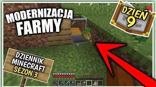Dziennik z Minecraft (PL) Modernizacja Farmy - Sezon 3 Dzień 9