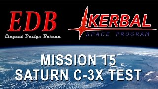 Kerbal Space Program EDB Mission 15 - Hyperion Shuttle/C-3X Test