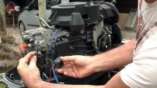 montage regulateur sur moteur hors bord yamaha 40cv unduro