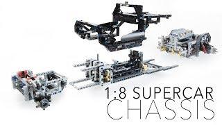 LEGO Technic 1:8 Modular Supercar Chassis