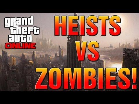 GTA 5 Online Heist Vs Zombie Apocalypse DLC! Bank Robbery, Prison Heist Or Zombie DLC? (GTA V DLC)