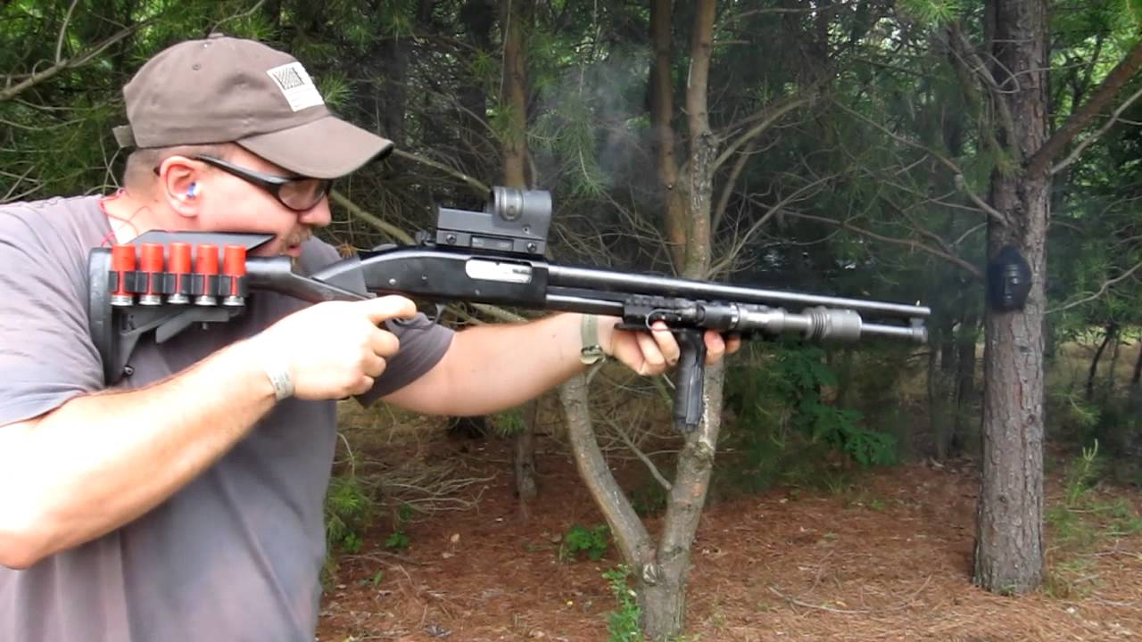 Mossberg 500 W KNOXX Recoil Stock