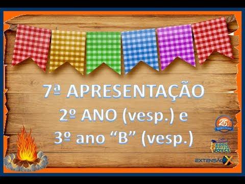 Festa Junina 2018 - Apresentação 2º ano (vesp) e 3º ano B (vesp)