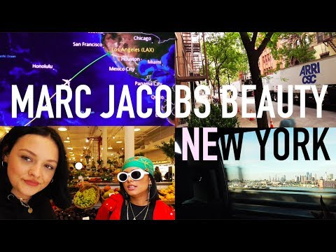 NEW YORK VLOG! PART 1-  with Marc Jacobs Beauty!