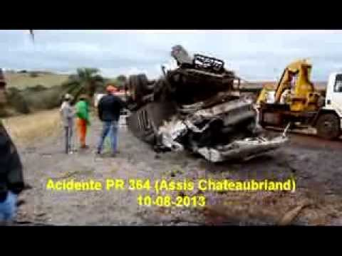 f296349493a Acidente na PR 364 - Assis Chateaubriand - YouTube