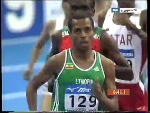 Cto Mundial Indoor Moscú 2006 3000 metros masculinos