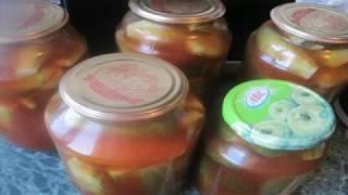 Огурцы с кетчупом Острый или Чили на зиму