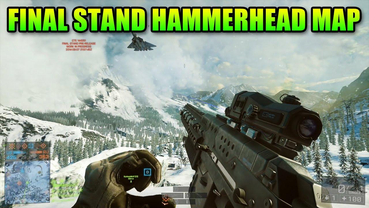 hammerhead map frozen submarine