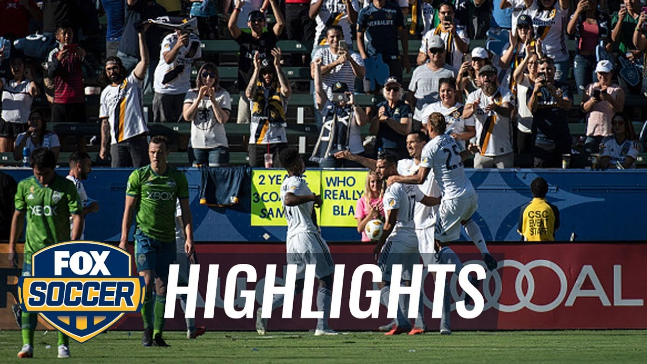 LA Galaxy vs. Seattle Sounders | 2018 MLS Highlights