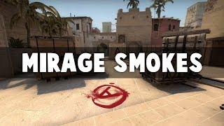 CS:GO - Essential Mirage Smokes