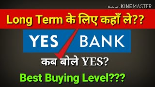 YES BANK को कब बोले Yes?    Best buying Level_Yes Bank_Money Matters