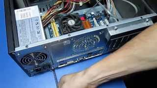How to change or replace a computer power supply