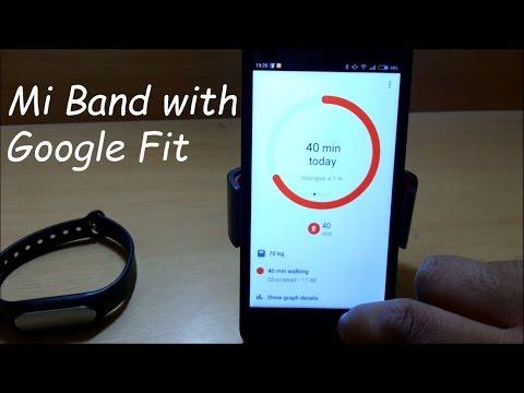 Mi Band  Google Fit Update