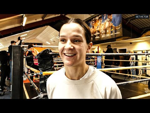 Terri Harper: I'll FIGHT MY IDOL Katie Taylor; there's nothing EVA WAHLSTROM can beat me on!