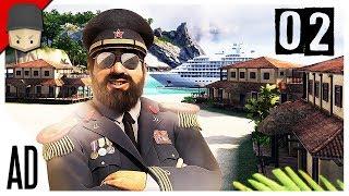 Tropico 6 - Ep.02 : THE WORLD WARS! (Tropico 6 Full Version Gameplay)