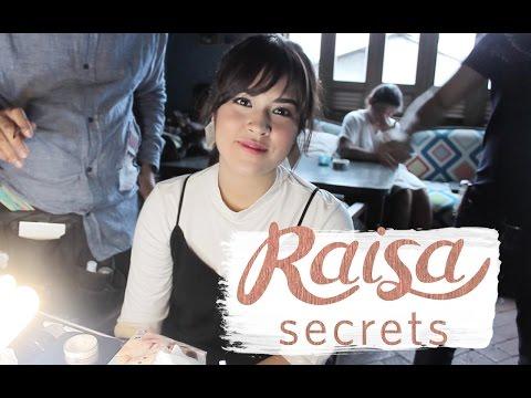 Raisa Reveals Her Secret - Behind the Scenes COTTONINK x RAISA