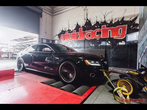 VRTuned Audi S5 4.2L V8 ECU Flash on the Dyno