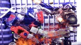 Transformers Stop Motion - Megatron's Chaos