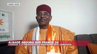 Albadé Abouba, candidat à la presidentielle au Niger :