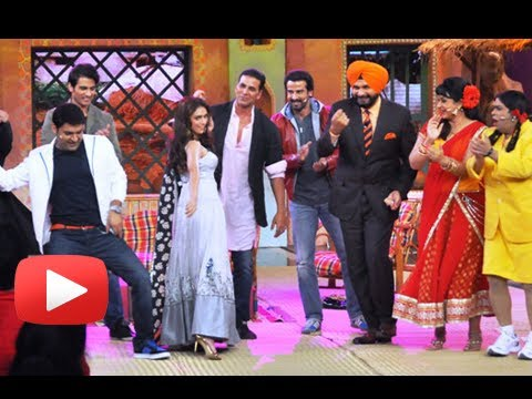 Akshay Kumar, Aditi Rao Hydari, Shiv Pandit - Comedy Nights With Kapil Travel Video