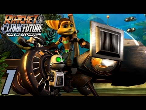 Let's Play Ratchet & Clank Tools of Destruction [German][#1] Angriff auf Metropolis!