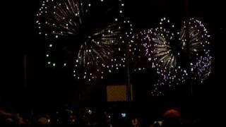 July 4th, 2009 Firerworks at Boulevard East, Weehawken, NJ.