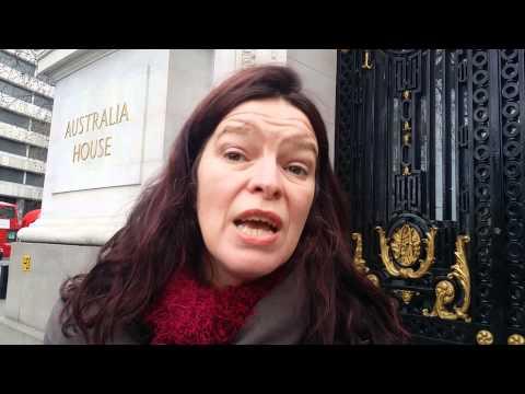 Shame Australia Shame, Australia HighCommission London Demo.