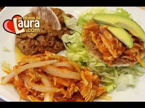Receta de Tinga de Pollo ♥ Comidas Saludables ♥ Chipotle Chicken Tinga♥Low Fat Healthy Food