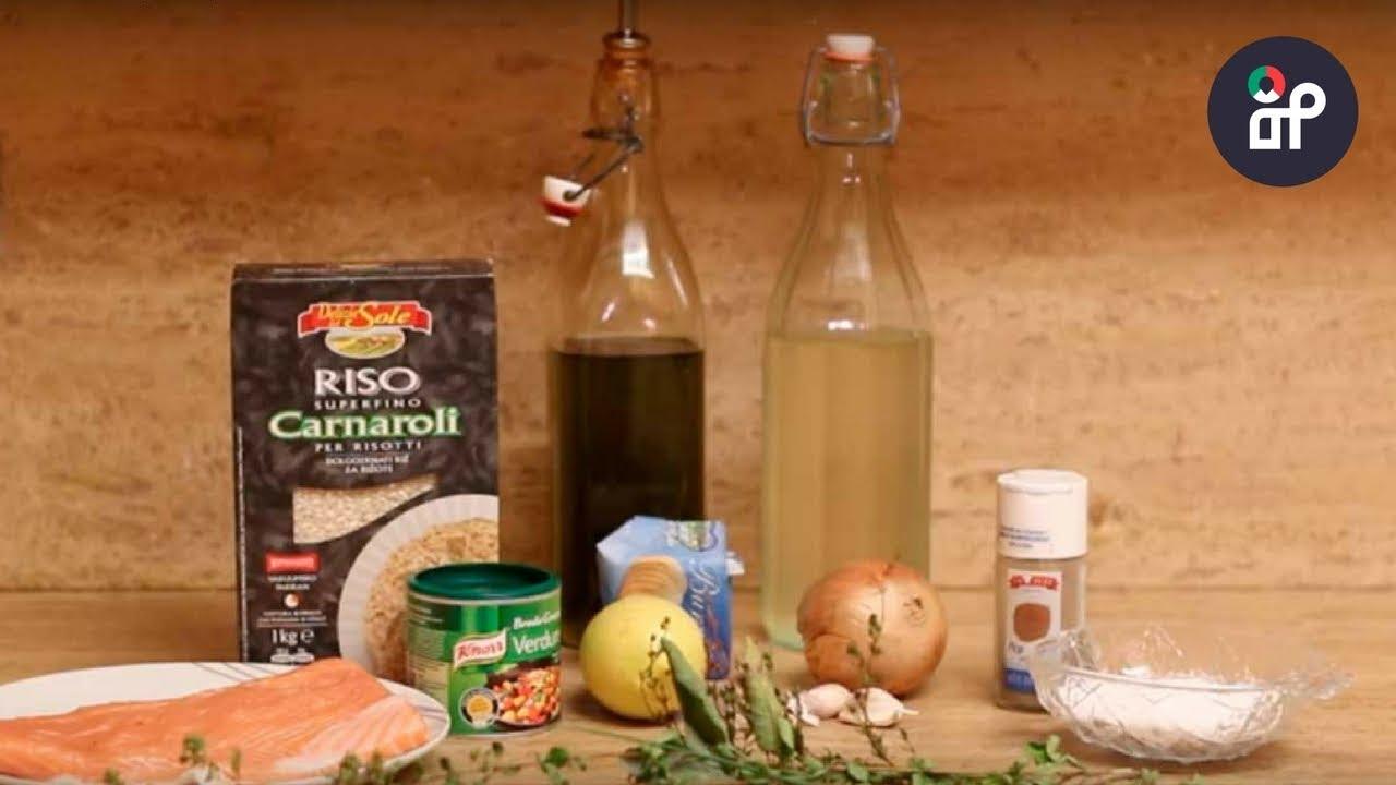 Kuchnia Włoska Przepis 1 Włoskie Risotto Z łososiem
