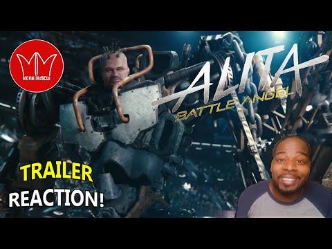 Alita Battle Angel Final Trailer REACTION!