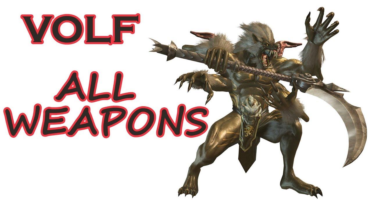 Ninja Gaiden Sigma 2 All Weapons Vs Volf Youtube