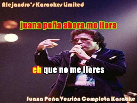 Hector Lavoe Juana Peña Versión Completa...