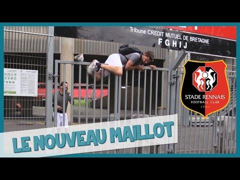 EXCLU - Le nouveau maillot du Stade Rennais - Les Inachevés