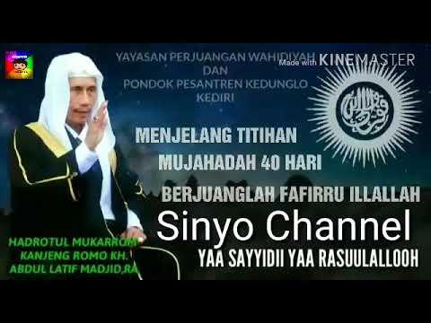 Penyejuk hati_Tasyapukan kalimat Sholawat Wahidiyah oleh GITA KDI
