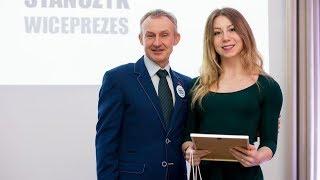 Maria Pisarek z nagrodą od starosty ostrołęckiego