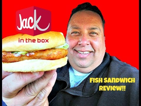 Jack in the box fish sandwich review youtube for Jack in the box fish