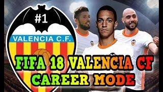 FIFA18  modo carreira com valencia ao vivo 1 temporada