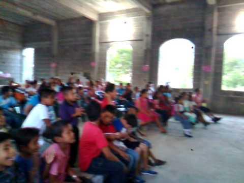 """4 Centro de Fe Esperanza y amor en salina cruz """"escuelita bíblica de vacaciones"""""""